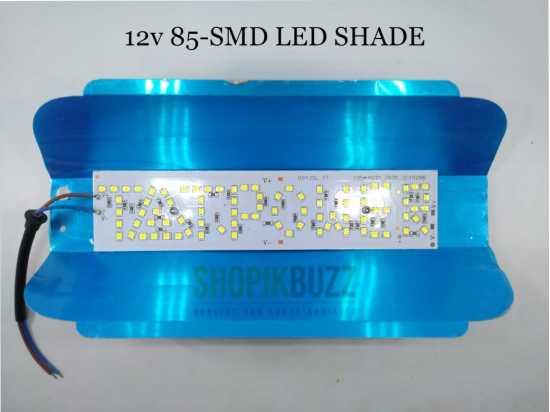 12v DC LED Shade 85-SMD 30w Power High Bright Light