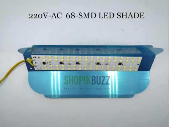 220v AC LED SHADE 68-SMD 25w Power High Bright Light