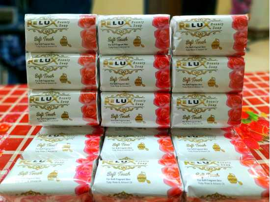 Relux beauty soap pink