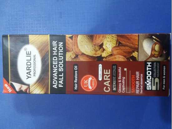 Yardlie Almond hair Oil – 200ml BY YARDLIE FOR HAIR GROWTH AND HAIR FALLING
