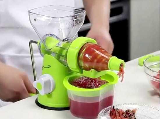 Manual Juicer Machine Juicers & Fruit Extractors Home & Traveling juicer Machine