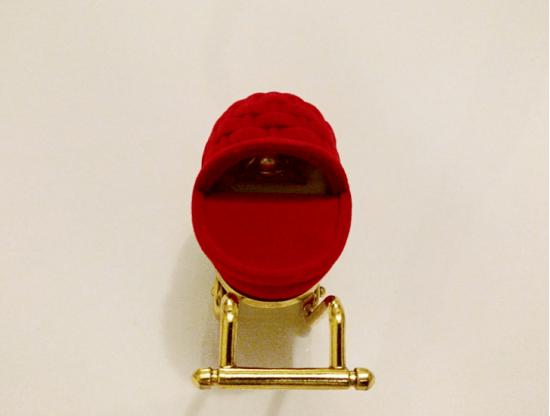 Baby Cart Ring Box / Jewelry Box