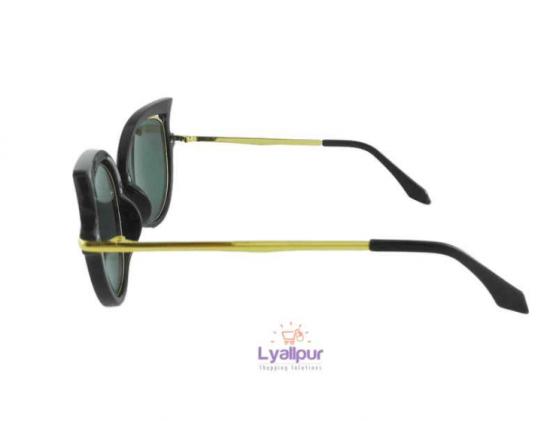 Cat Eye Sunglasses Retro Metal Frame