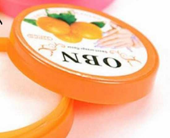 Nail Polish Remover - Orange - 32 wipes