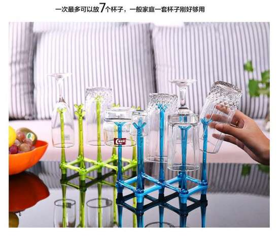 Bottle Rack Drying Nipple Stand Cup Storage Folding Drainer Dryer Dish