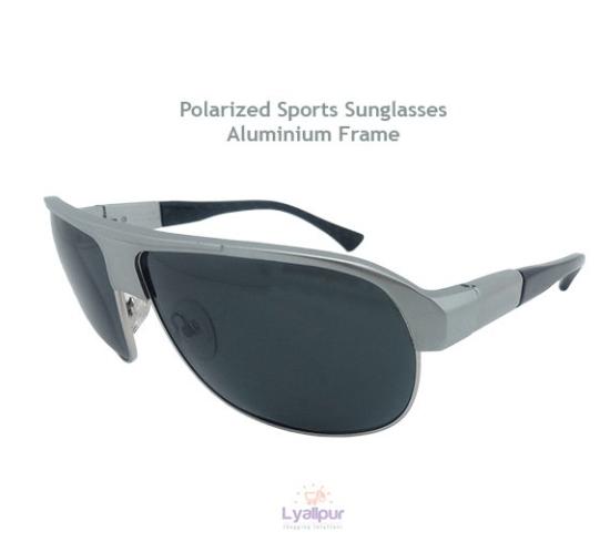Polarized Sports Sunglasses Aluminium Frame
