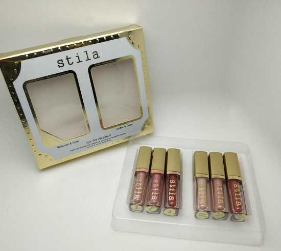 Stila Pack Of 6 - Shimmer and Glitter Liquid Eye Shadow