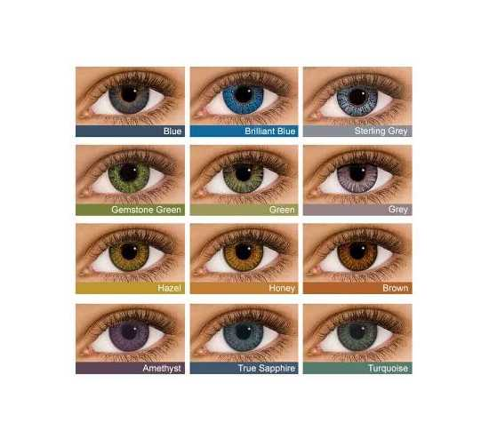 Event 3 Tone Contact Lenses with container