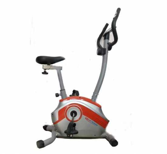MIHA TAIWAN-11 MB - Cardio Magnetic Upright Exercise Bike - Grey & Orange
