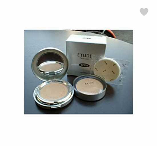 Etude Twin Cake Face Powder & Refill (SMALL)