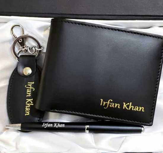 CUSTOMIZE NAME ON WALLET , KEY CHAINS , PEN WITH BOX PACKING (PERFECT GIFT TO...