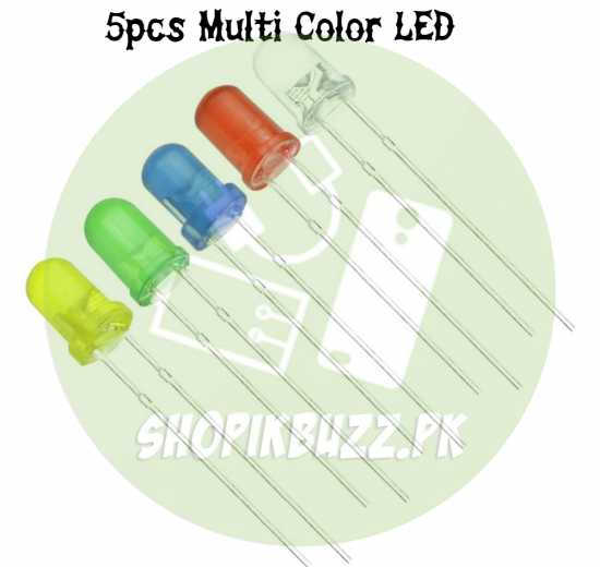 Round LED Diode Light Bulb Super Bright Emitting Diodes Lamp Green Yellow...