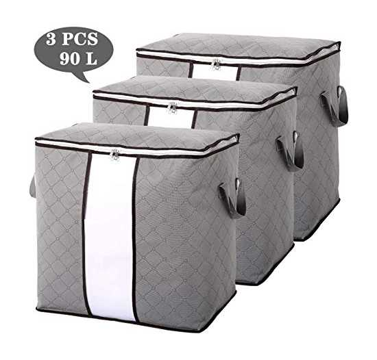 Pack off Three Capacity Clothes Quilts Storage Bags Folding Organizer Bags...
