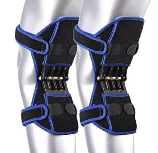 Spring Knee Booster Popower Knee Support Powerleg Knee Joint Support Pads...