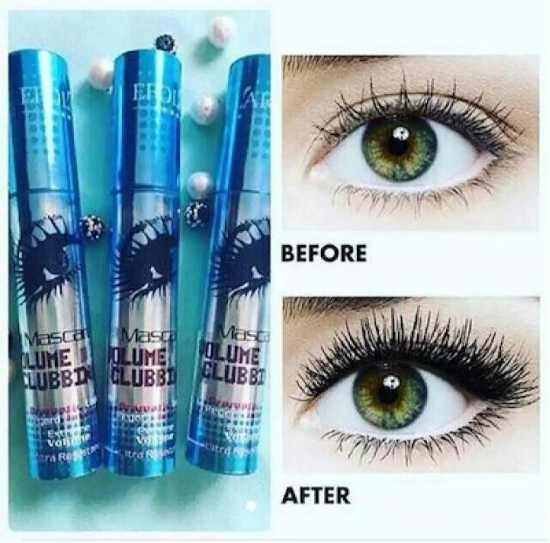 Volume Clubbing Mascara - Black