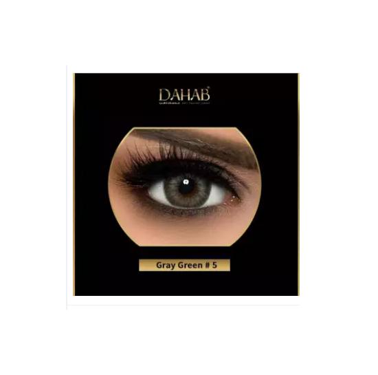 Dahab Gray Green Contact Lenses, Unisex Dahab Cosmetic Contact Lenses, Eye...