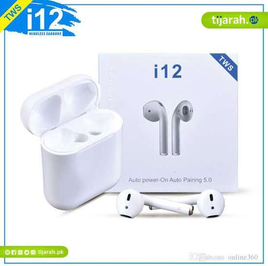 Bluetooth Earphones Wireless Touch Control Earbuds I12 TWS