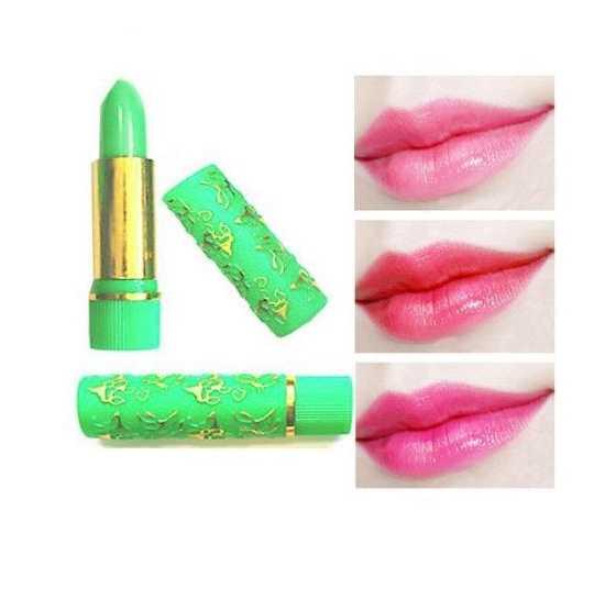 Golden Pink Lipstick - Green