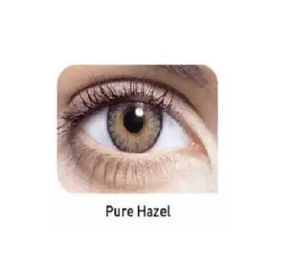 Pair of Soft Contact Lens With Water Solution Kit