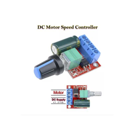 DC Motor Speed Controller Module Mini DC-DC 4.5V-35V 5A 90W Speed Regulator...
