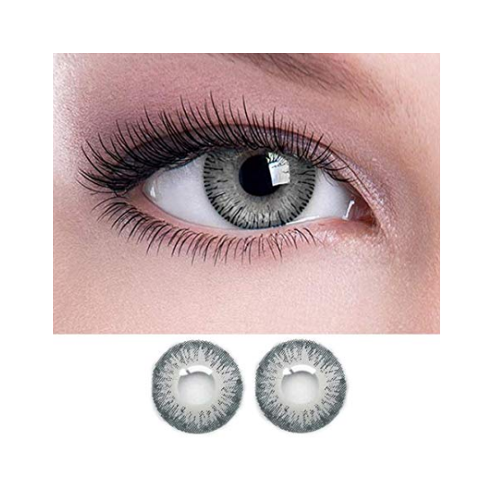 Triple Tone Contact Lenses  in Grey color