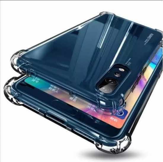 Huawei y9 prime 2019 crystal clear high quality flexible silicone anti...