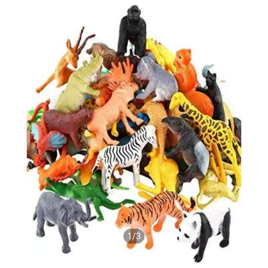 Pack of Zoo Animals-001