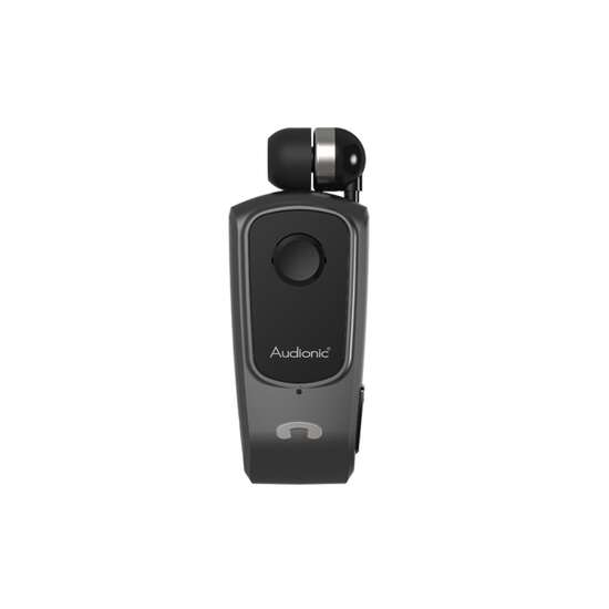Business KLIP ON 2  Audionic Klip on 2 with retract button wireless earbud...