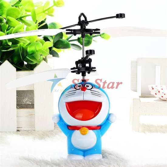 Children Kid Airplane Toy Automatic Manual Infrared Sensors
