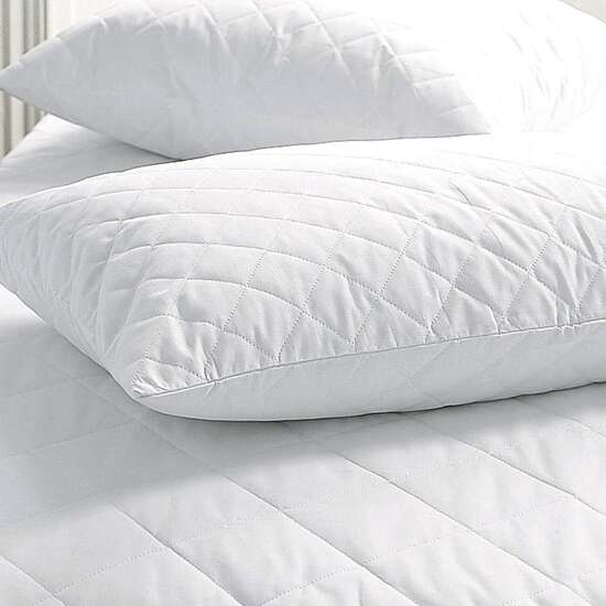 HIGH LIVING QUILTED PACK OF TWO PILLOW PROTECTOR
