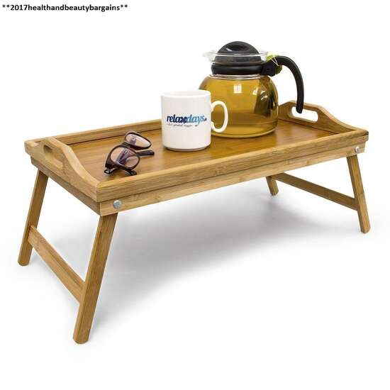 Wood Laptop table Bed Table Study Table Foldable Multi Functional