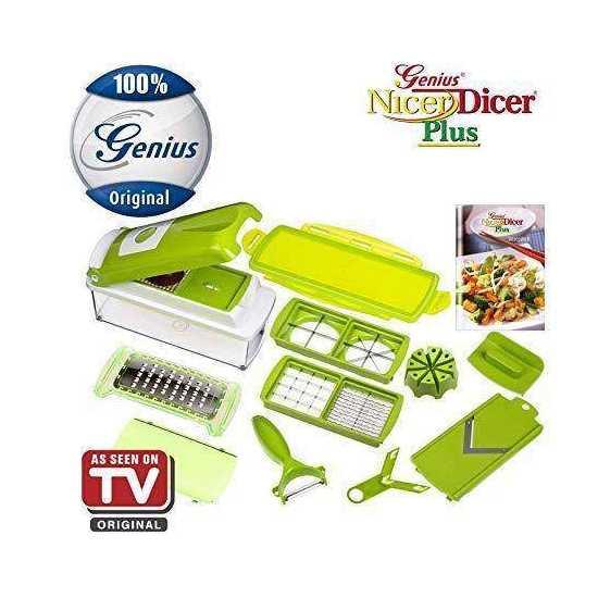 Vegetable Onion Chopper / Nut Herbs Cutter Slicer Peeler