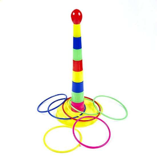 Ring Tower Ring Toss Game Toy