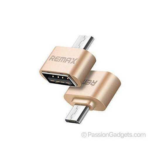 Micro USB OTG Adapter  USB to micro USB  Data Adapter Travel Converter (01...