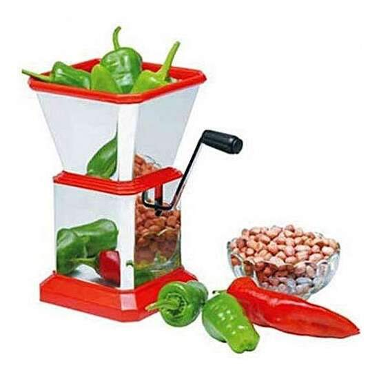 HIGH QUALITY STEEL CHILI CUTTER AND FRUIT CUTTER