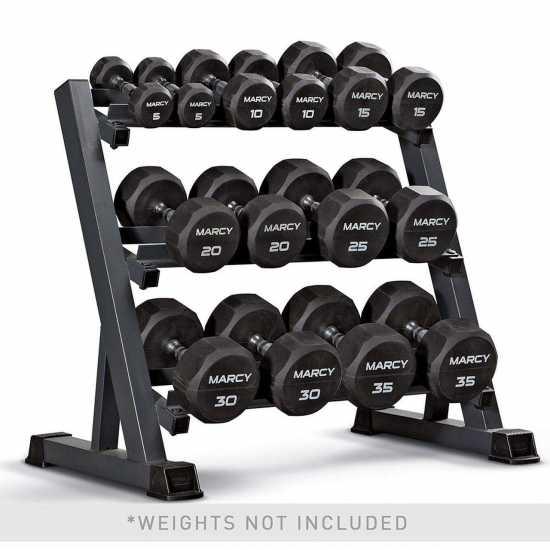 Heavy Quality Dumbbell Rack - Black