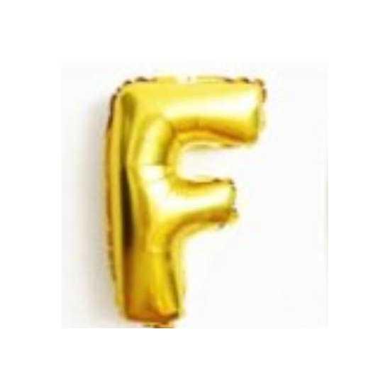 Golden Alphabet Letter Balloons A to Z SINGLE