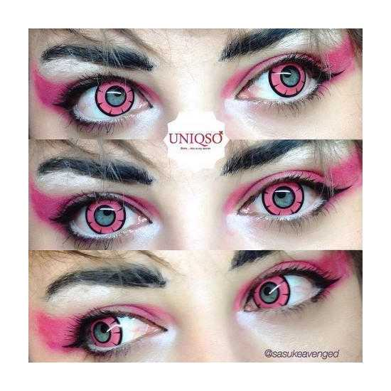 Pair Of Soft Contact Lens-PINK