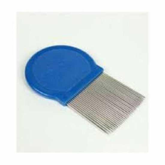 Lice Comb Round - Blue