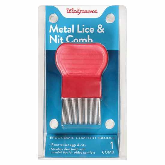 Walgreens Metal Lice Comb
