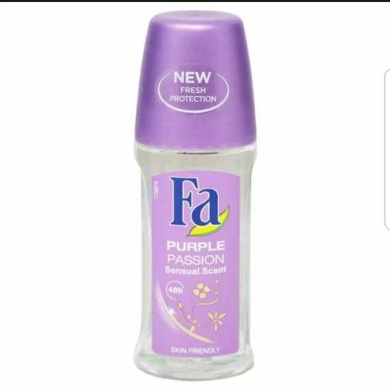 FA Roll On - Purple Passion - Sensual Scent - Skin Friendly- 50Ml
