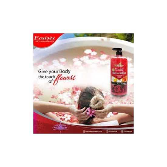 FRUISER Spa Shower Scrub (730ml) - Rose Vanilla