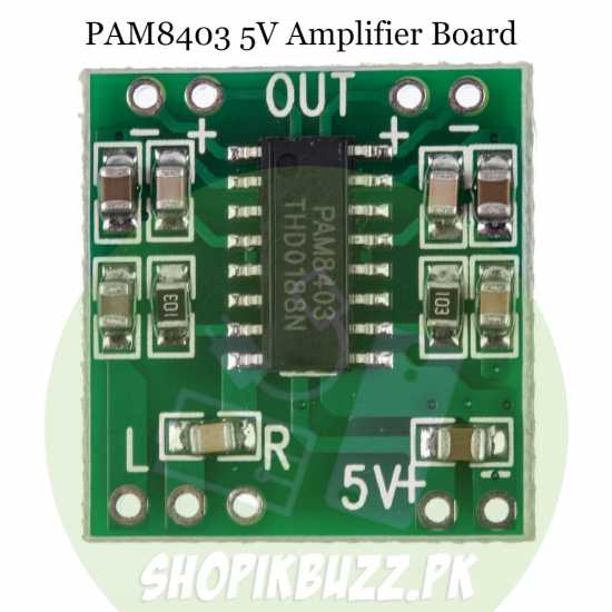 PAM8403 3W Digital Power Module Amplifier Board USB DC 5V Mini