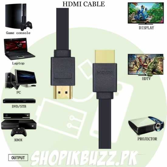 HDMI Cable High Speed 4K Compatible Hdmi Cable 1.5 m High Definition...