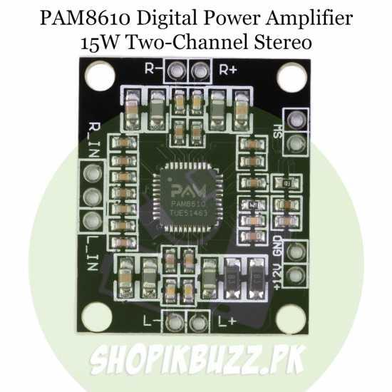 12v Amplifier board PAM8610 15W two-channel stereo digital Power