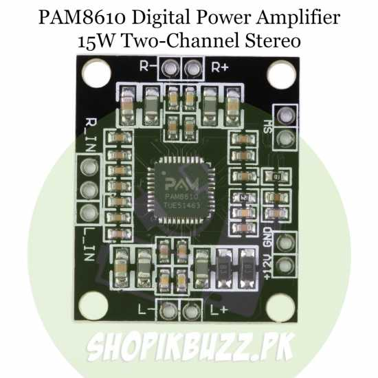 Amplifier board PAM8610 12v 15W two-channel stereo digital Power