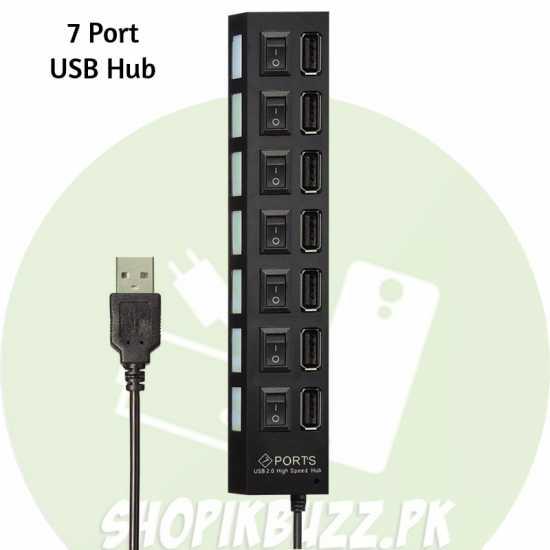 Multi Port USB Hub High-Speed USB Humanoid Splitter Cable Adapter for Laptop PC