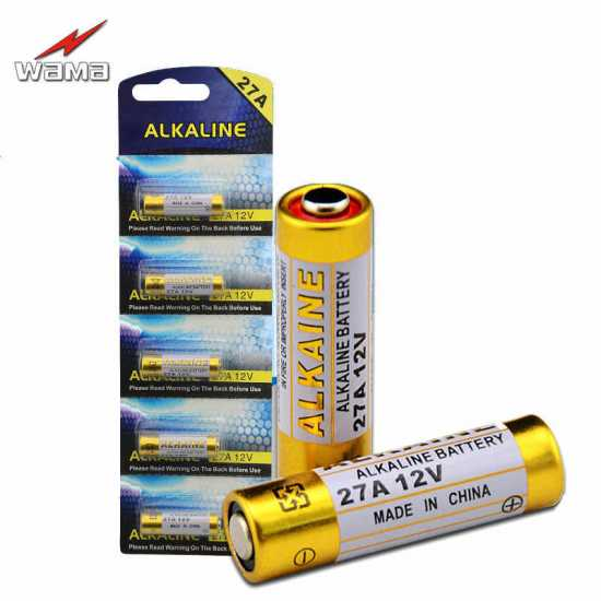 12V 27A Alkaline High Voltage Battery Cell for Car Remote/ Remote Control...
