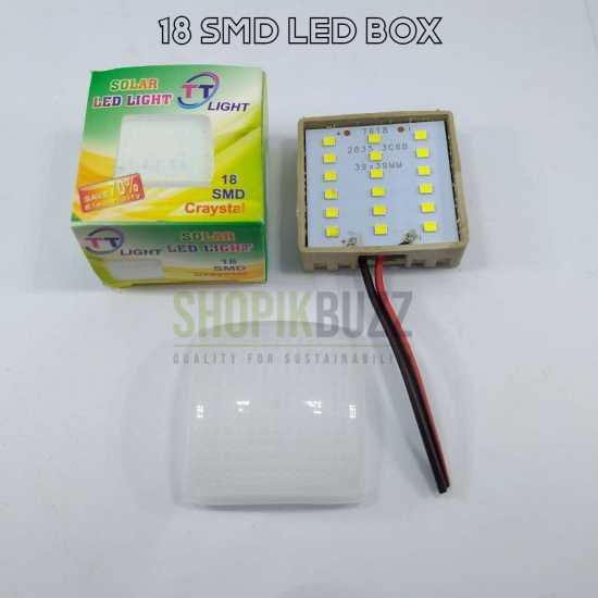 12v DC 18-SMD LED Light Panel With Case