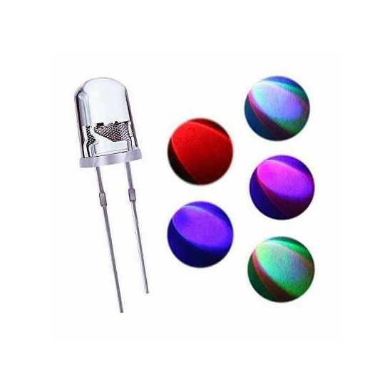 RGB LED Multi color LED 5mm 3v For DIY Project Electronics
